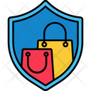 Shopping Security Icon