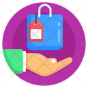 Shopping Protection Shopping Service Shopping Bag Icon