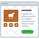Store Shop Trolley Icon