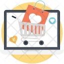 Love Shopping Ecommerce Icon