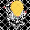 Shopping Solution Creative Shopping Innovative Shopping Icon