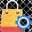 Shopping Bag Gear Icon