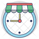 Shopping Time Sale Icon