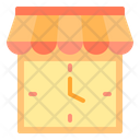 Time Shop Time Shopping Time Icon