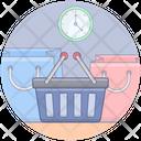 Shopping Time Icon