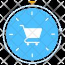 Shopping Time Cart Icon