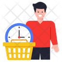 Purchase Time Shopping Time Buy Time Icon
