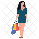 Shopping Time Leisure Time Buying Icon