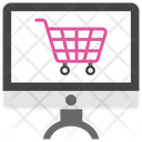 Shopping Time Online Shopping E Commerce Icon