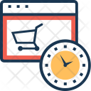 Shopping Time Icon
