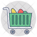 Shopping Trolley Grocery Icon