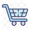 Shopping trolley Icon