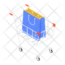 Shopping Trolley Shopping Cart Handcart Icon