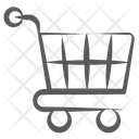 Shopping Trolley Handcart Pushcart Icon