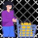 Shopping Cart Shopping Trolley Buying Cart Icon