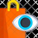 Shopping Vision Shopping Eye Shopping Bag Icon