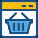 Shopping Web Icon