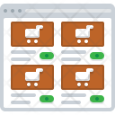 Shop Commerce Ecommerce Icon