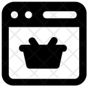 Shopping Website Ecommerce Online Buying Icon
