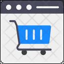 Shopping Website Online Shopping Ecommerce Website Icon