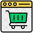 Shopping Website Online Shopping Ecommerce Website Icon