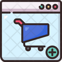 Website Shopping Store Icon