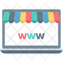 Shopping Website Shopping Site Online Shopping Icon