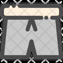 Short Cloth Casual Icon