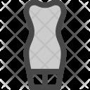 Short Dress Body Icon