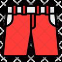 Short Fashion Clothing Icon