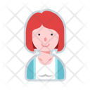 Woman Short Hair Icon
