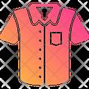 Short Sleeved Shirt Icon