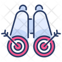 Business Goals Target Icon