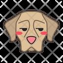 Shorthaired Pointer Dog Unamused Icon