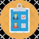 Shortlist List Employee Icon