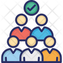 Shortlisted Person Applicant Employee Selection Icon