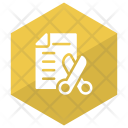 Shortlisted Resume Cv File Icon