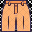 Shorts Pants Slacks Icon