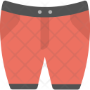 Short Pant Red Icon
