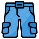 Shorts Man Clothing Icon
