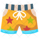 Shorts Summer Swimming Trunks Icon