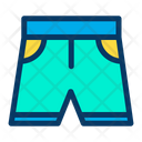 Boxing Shorts Short Cloth Icon