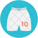 Shorts Halfpant Garment Icon
