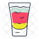 Shot Layered Cocktail Icon