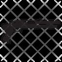 Shotgun Gun Violence Icon