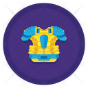 Shoulder Pad Protection Security Icon