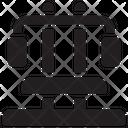 Shoulder Press Icon