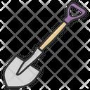Shovel Spade Construction Tool Icon