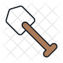 Shovel Digging Tool Mining Equipment Icon