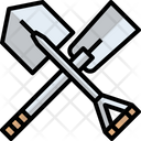 Shovel Trowel Construction Tool Icon